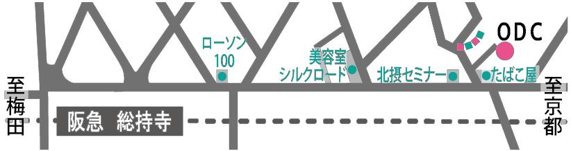 ODCの地図